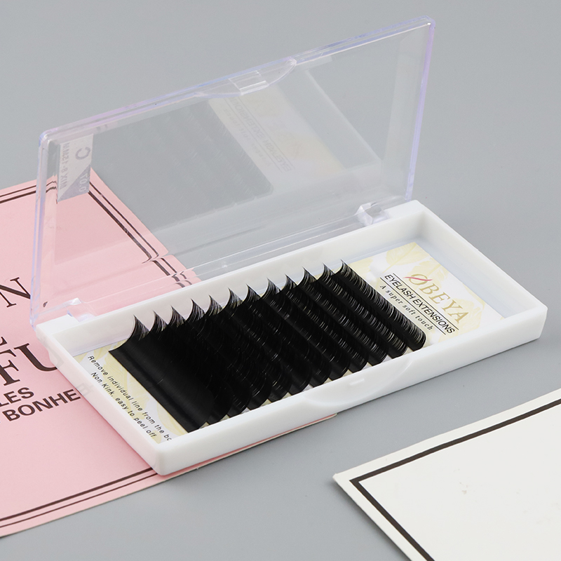 Buying flat cashmere lashes from eyelash extension factory,ellipse flat eyelash extensions supplier JN