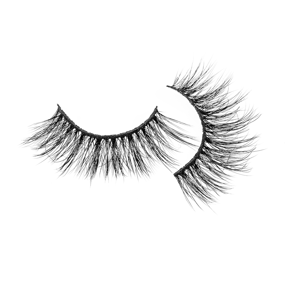 Private label eyelashes dramatic 3d mink eyelash b...