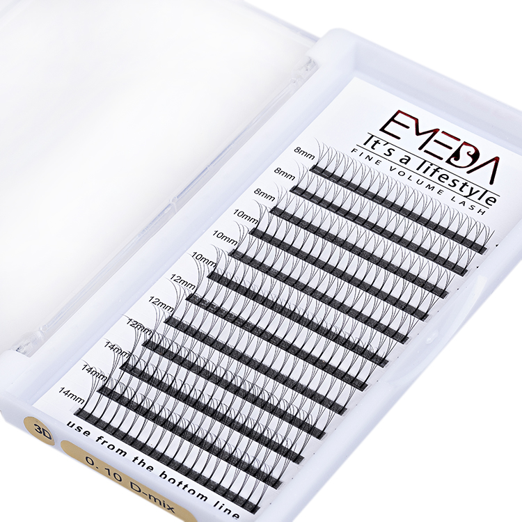 Inquiry for wholesale 3D premade volume fans eyelash extensions with private label JN04