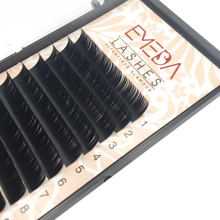 Russian Volume Eyelash Extension Vendor Best False Eyelash Free Sample YL02
