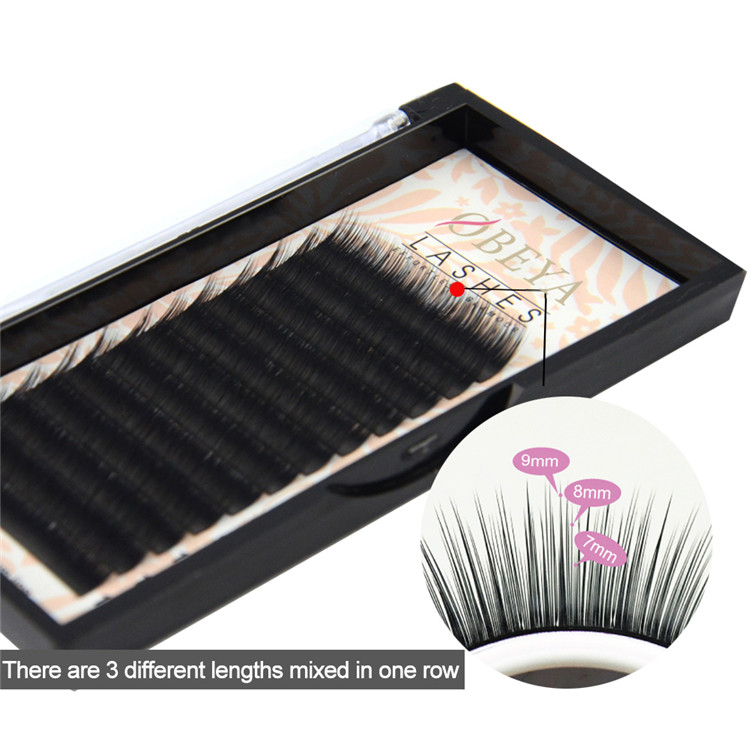 Camellia Eyelash Extensions Factory Supply Premium Lash Extension Y08