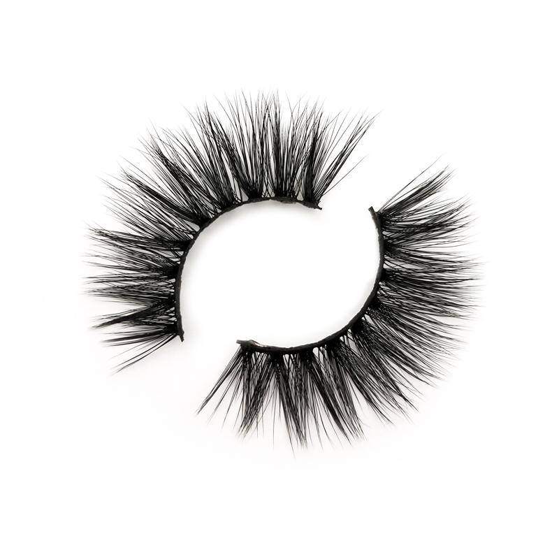 Luxury 3d silk faux mink eyelashes natural looking...