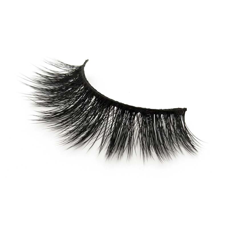 Handmade 5D silk lashes synthetic lashes private label JN54