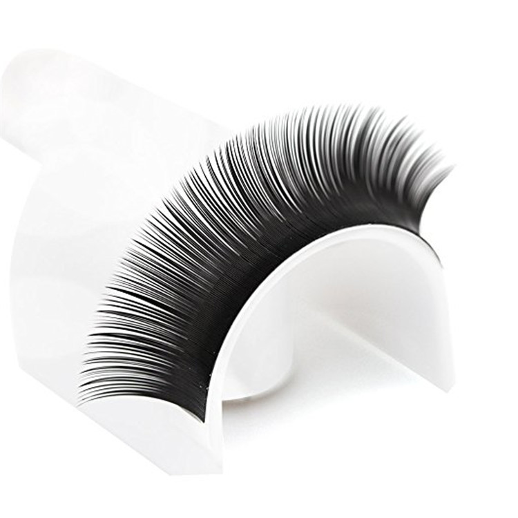 Flat Eyelash Extensions Factory Wholesale Private Label Acceptable Ellips Eyelash FM001