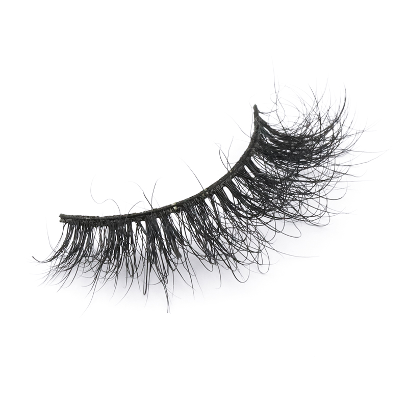 2021 waterproof mink eyelash 5D 6D fluffy strip lashes factory wholesale price  JN