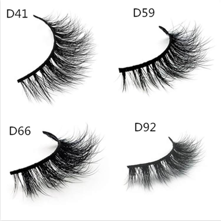 Mink Eyelash Vendors Supply Free Samples Of 3d Mink Eyelashes Y35