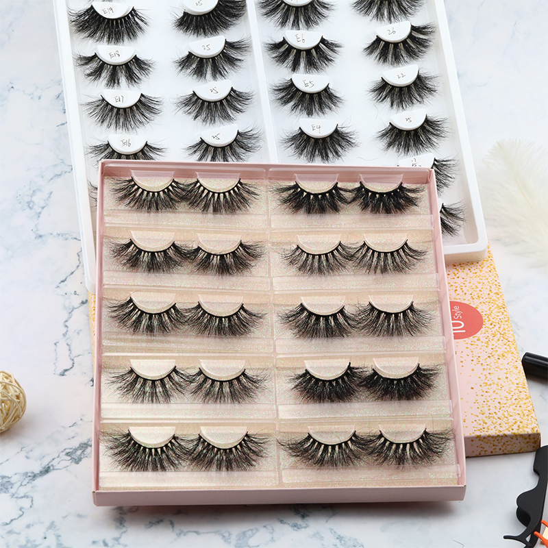 Inquiry for 25MM lashes 5D wholesale vendor bulk mink eyelashes private label mink eyelash packaging box JN